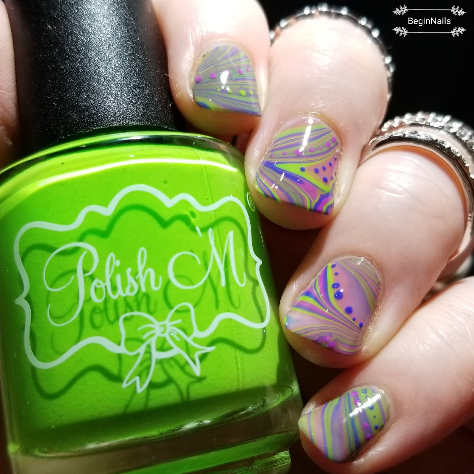 Which Nail Polish Is Used For Water Marble