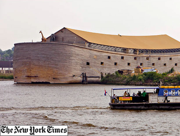 Holandês Constrói Réplica da Arca de Noé