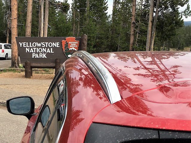 2017 Mazda CX-9 Grand Touring at Yellowstone National Park
