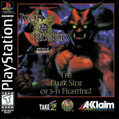 descargar iron y blood warriors of ravenloft psx mega