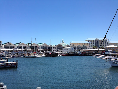 V&A Waterfront, view to the harbor