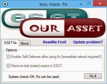 Cara Crack ESET Smart Security 8 dan ESET NOD32 Antivirus 8