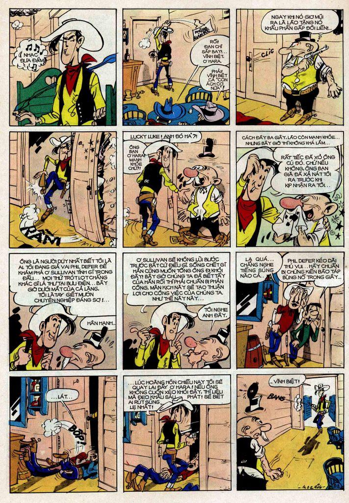 Lucky Luke tập 25 - nhện chân dài trang 12