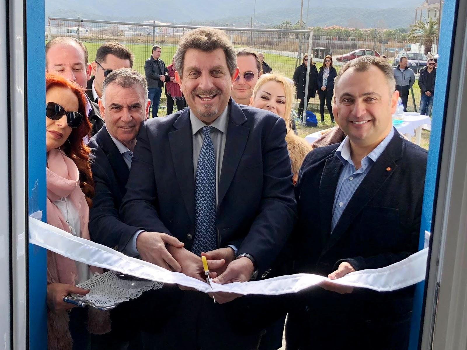 Ο Δήμαρχος Ι.Τζίτζιος εγκαινιάσε έργα 10 εκ.ευρώ στη Σάρτη
