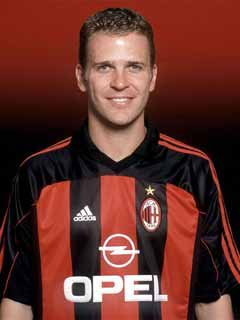 The German striker Oliver Bierhoff served  Zaccheroni at Udinese and AC Milan