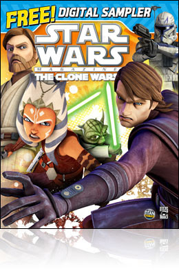 Free Star Wars The Clone Wars Magazine Digital Sampler