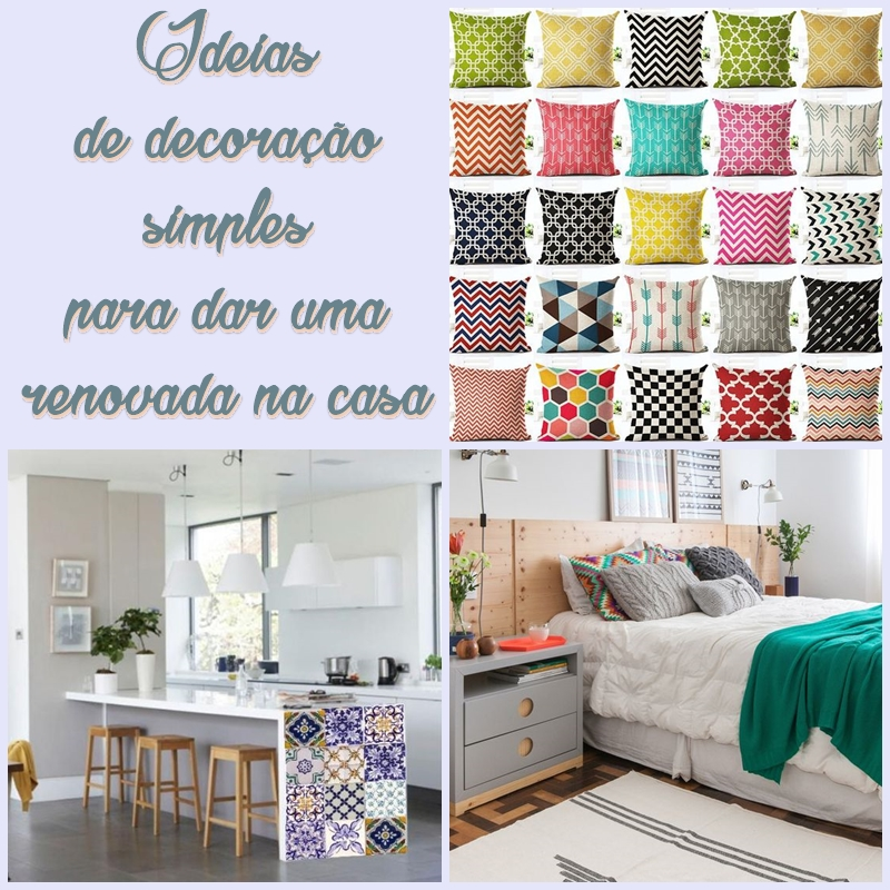 10 ideias de decora o simples reciclar e decorar blog de decora o e reciclagem - Decorar casa barato ...