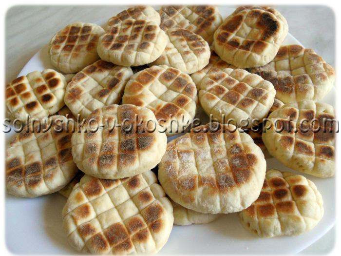 Печенье на сухой сковороде