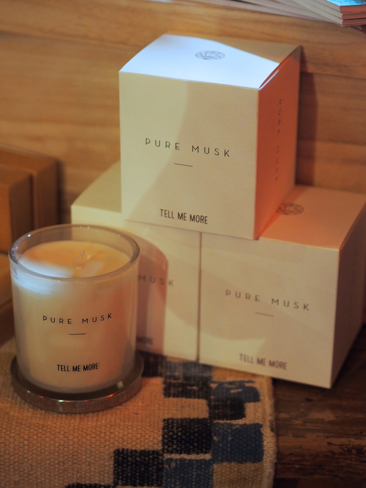 Musk Candle from Homage