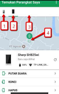 Cara mudah melacak HP handphone yang hilang dengan aplikasi Android Device Manager