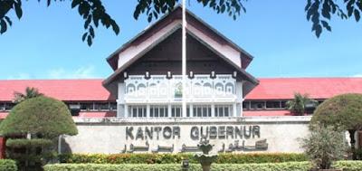 alamat kantor gubernur aceh