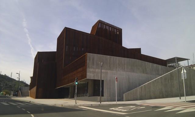 Arquitectura en espa a casa de cultura de ortuella - Arquitectos en bilbao ...