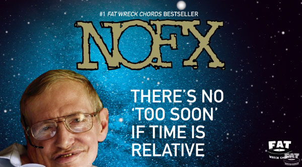 "NOFX stream new song ""There's No 'Too Soon' If Time Is Relative"""