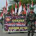 Kirab 1000 Bendera Merah Putih Tangkal Bahaya Radikalisme dan Terorisme