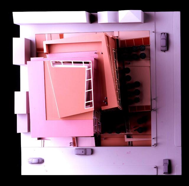 Edificio Nunotani en Tokio | Peter Eisenman | Inestabilidad tectónica