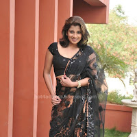 Nadeesha hemamali hot saree