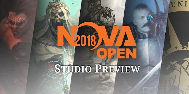 Sisters of Battle Beta Codex Coming Soon.. Plus Other Reveals from the Nova Open