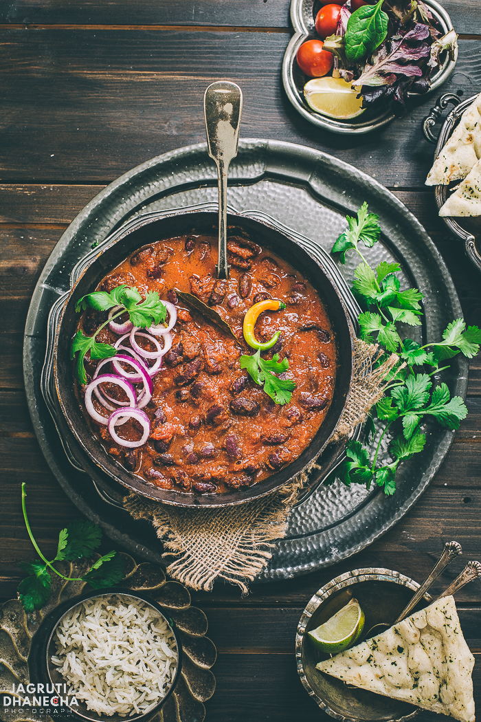 The magic is in Homemade Punjabi Rajma Masala! Rustic and delicious Rajma Masala is an exciting treat for your tastebuds. This ultimate comfort dish takes less than an hour to throw together and it's vegan. This authentic Punjabi rajma recipe becomes much easier and quicker if prepared in a pressure cooker.