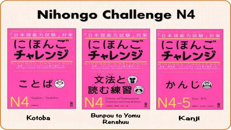 E-Book Nihongo Challenge N4 (Bunpou to Yomu Renshuu)