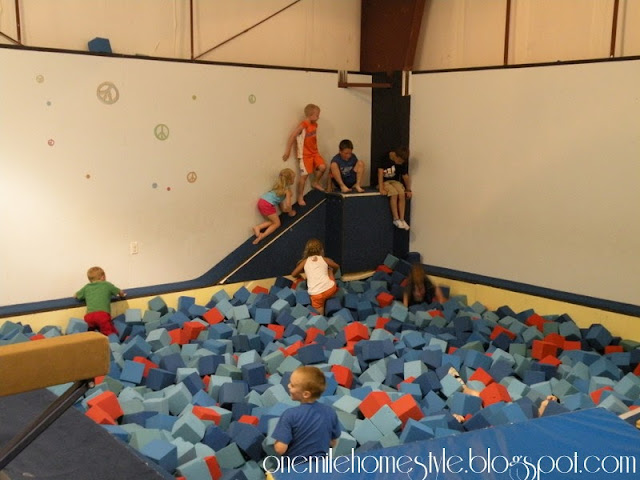 Kids gymnastics party