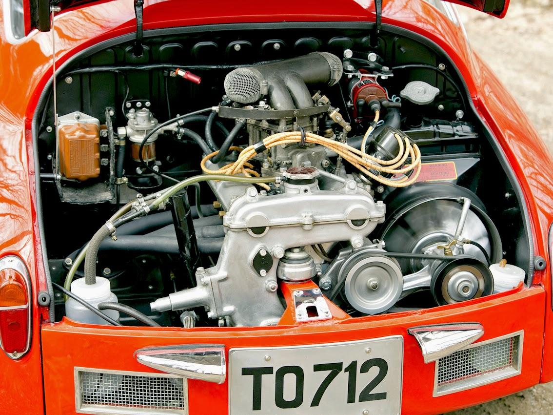 Fab Wheels Digest F W D 1958 Fiat Abarth 750 Record