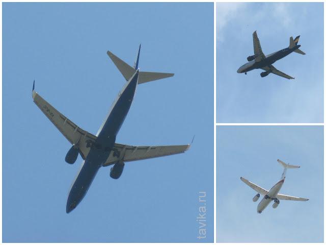 Самолеты над Симферополем
