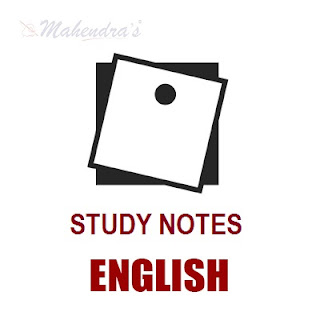 English Study Notes  For SSC CHSL Exam : 05.03.18