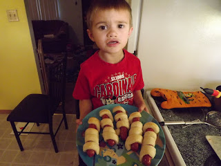 Halloween hot dogs for kids