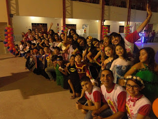 2º dia do Joana D'Arc com Cristo KIDS...