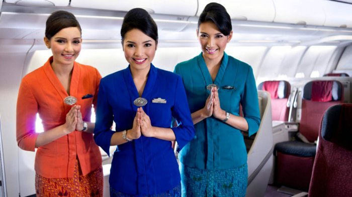 Ini Penyebab Kru Kabin Pesawat Didominasi Perempuan