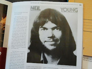 "Neil Young in ""Melodie & Rhythmus"""
