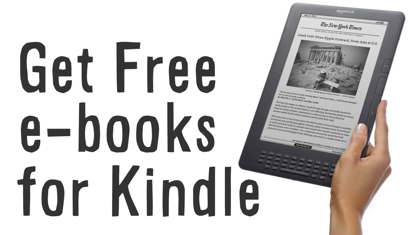 What format are eBooks for Kindle?