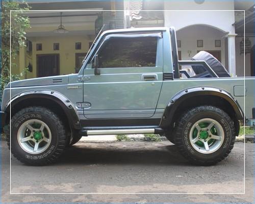 Modifikasi mobil katana terbaru ceper jimny 4x4 tahun 1989 ...