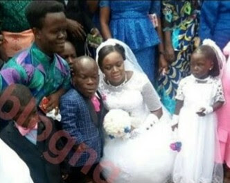 Nigerian Dwarf Weds Tall Woman (Photos)
