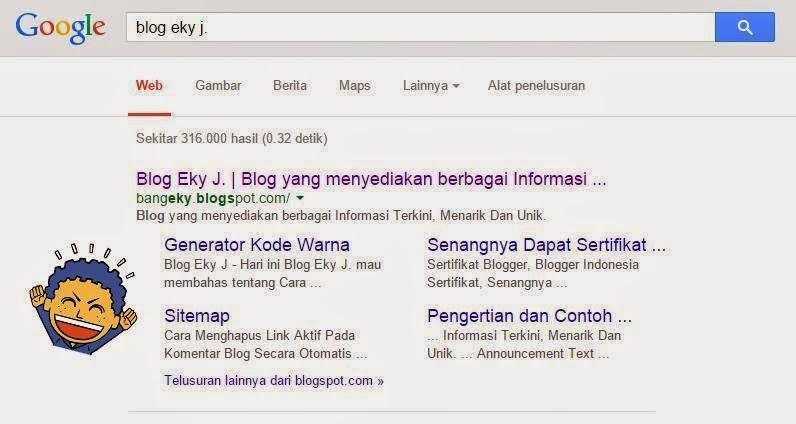 Cara Mendapatkan Sitelink Google
