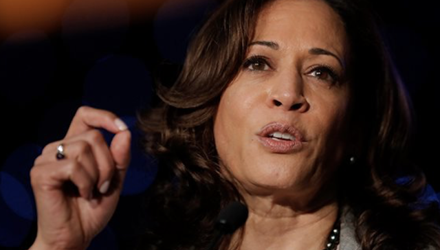Another Democratic Contender Kamala Harris Goes After Biden on Criminal Justice, But She's One to Talk