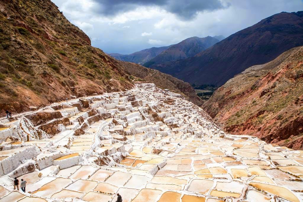 The Ancient Salt Ponds Of Maras  Peru
