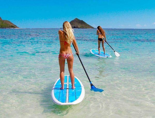 Stand Up Paddle, le sport de l'été tendance 2018 - Blog beauté