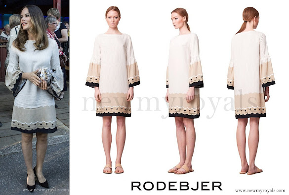Princess Sofia wore Rodebjer Mila Border Dress
