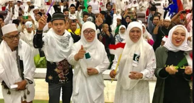 Khofifah Optimistis Menangkan Jokowi-Ma'ruf Amin di Madura