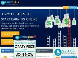 حصري : شرح entirebux العملاق القادمة بقوة لربح من الانترنت + دفع شخصي و حد ادني 0.5 دولار