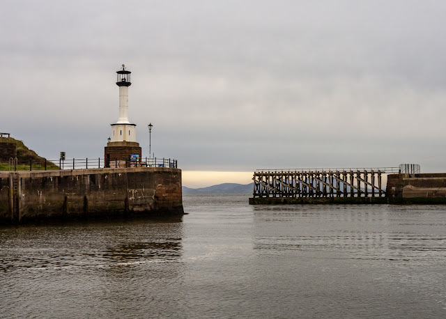 Photo of calm conditions in Maryport Basin on Saturday morning