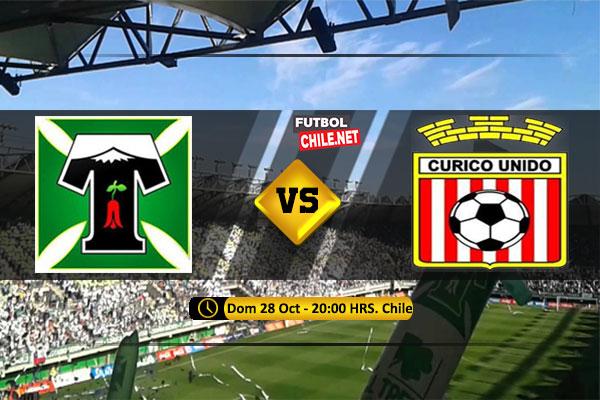 PREVIA: Deportes Temuco vs Curicó Unido