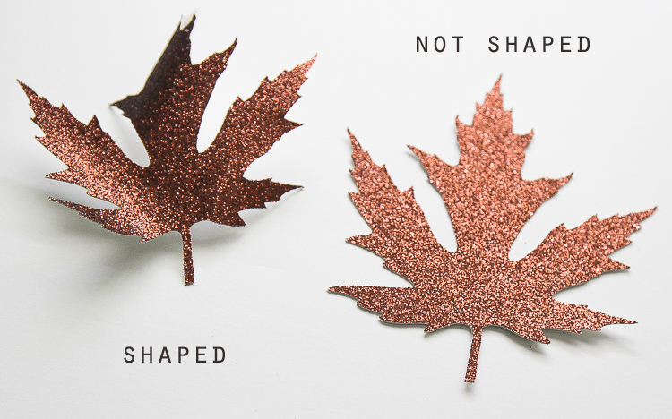 How to make gorgeous paper leaves for fall decorating
