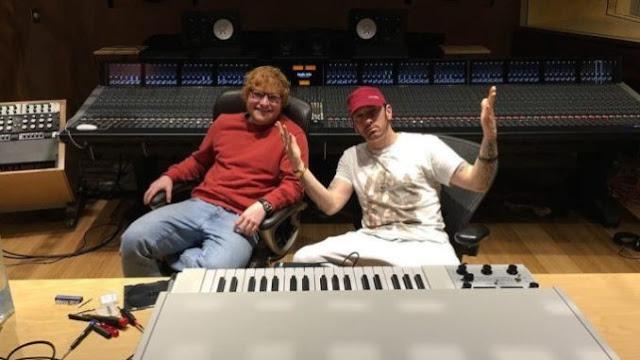 10 مليون مشاهدة خلال يومين فقط. الكليب الذي يجمع بين النجمين إيمينيم و إيد شيران   Eminem - River ft. Ed Sheeran