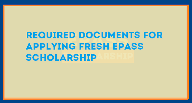 required documents for epass
