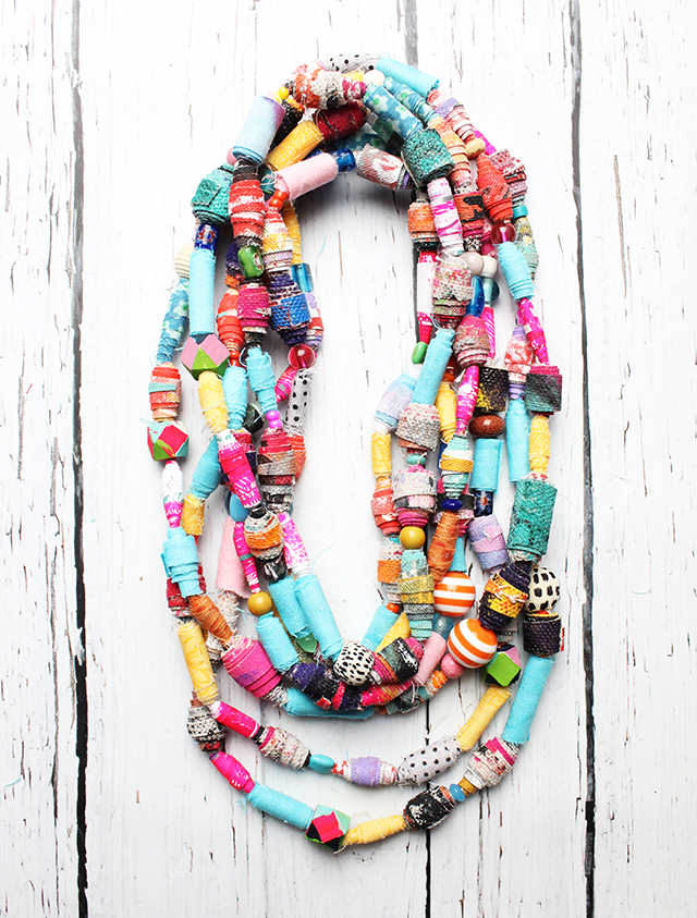 Scrap Statement Necklace - Alisa Burke