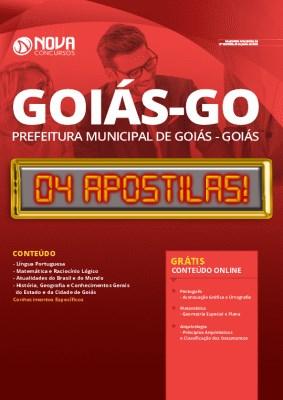 Apostila Concurso Prefeitura de Goiás 2020 Grátis Cursos Online