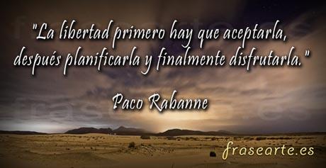 Frases célebres de Paco Rabanne