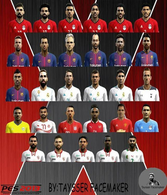 Facepack Update Part 15 PES 2013